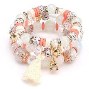 3$20 New Beaded Bracelet Set